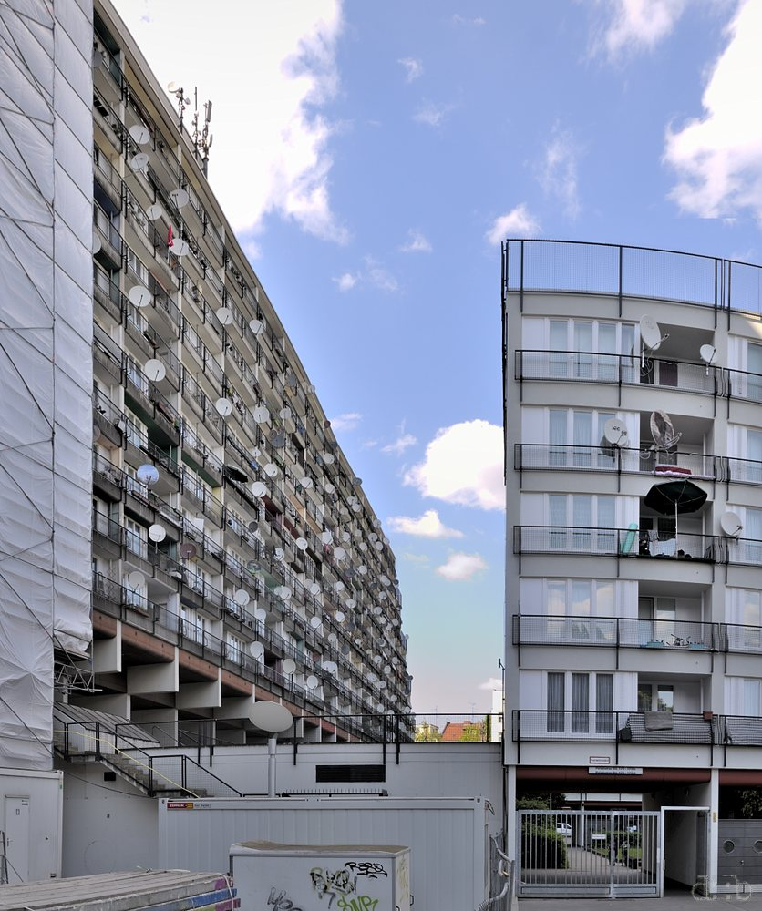"The ""Sozialpalast"" apartment complex in Berlin Schöneberg."