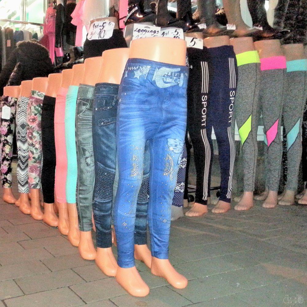 Semi-torso mannequins, presenting children's fashion in Düsseldorf
