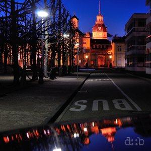 Karlsruhe Palace as seen through my Audi's engine hood