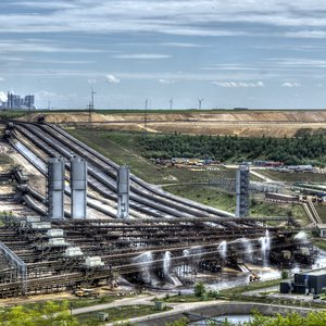 Belts, constantly conveying coal to its further processing