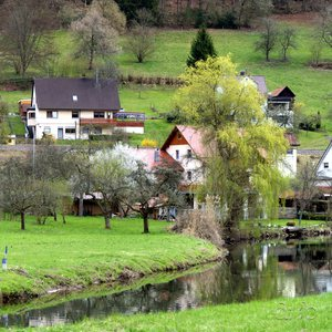 A typical contemporary Black Forest village
