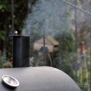 A smoker, smoking