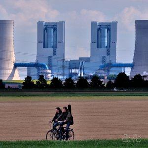 Lignite power plant Neurath, near Grevenbroich in the Düsseldorf area.