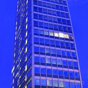 The Mannesmann tower, designed by Egon Eiermann in the 1950's.