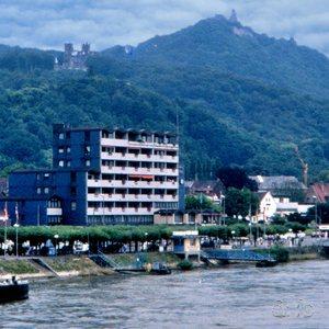Königswinter, next to Bonn, a small and tourist-prone German tourist spot on the Rhine.