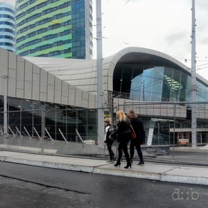 Arnhem centrak station, few weeks before its re-opening